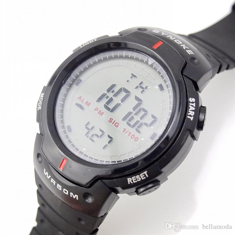 mens watches newest in china made product skmei digital and detail sports blue black
