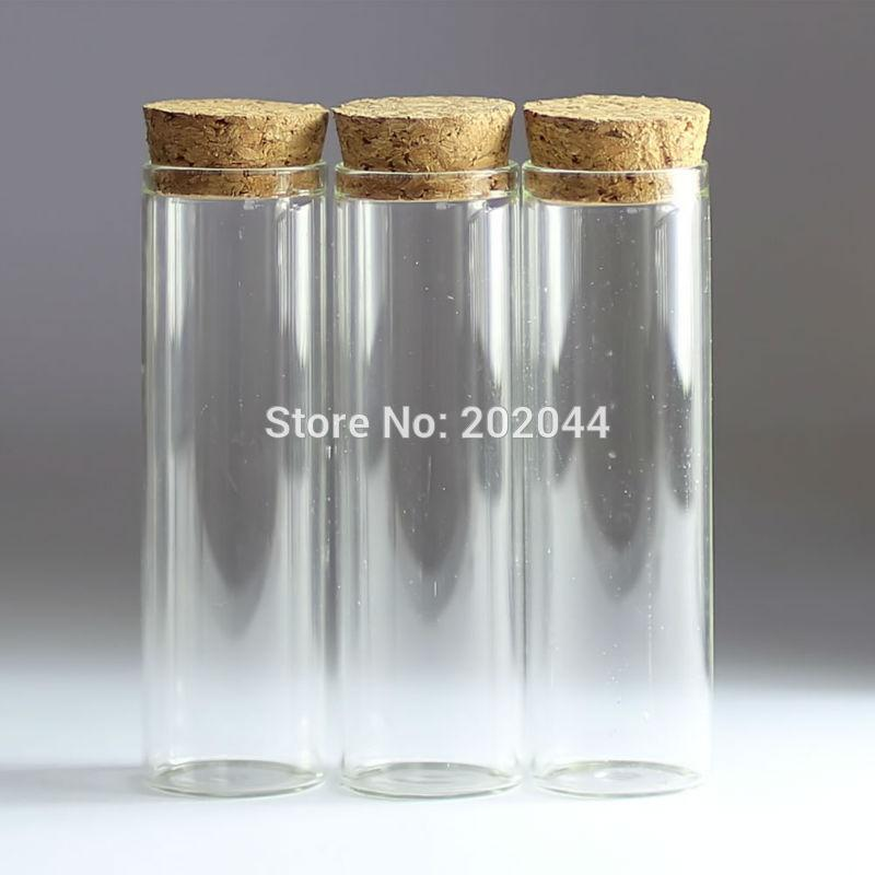 Small Decorative Bottles Wholesale: 2019 Wholesale 50ml 30*100mm 1.18*3.93 In Small Glass