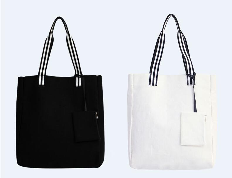 876df9ed50 Carrier Bag Canvas Shopping Bag Women Street Leisure Tote Magnetic .