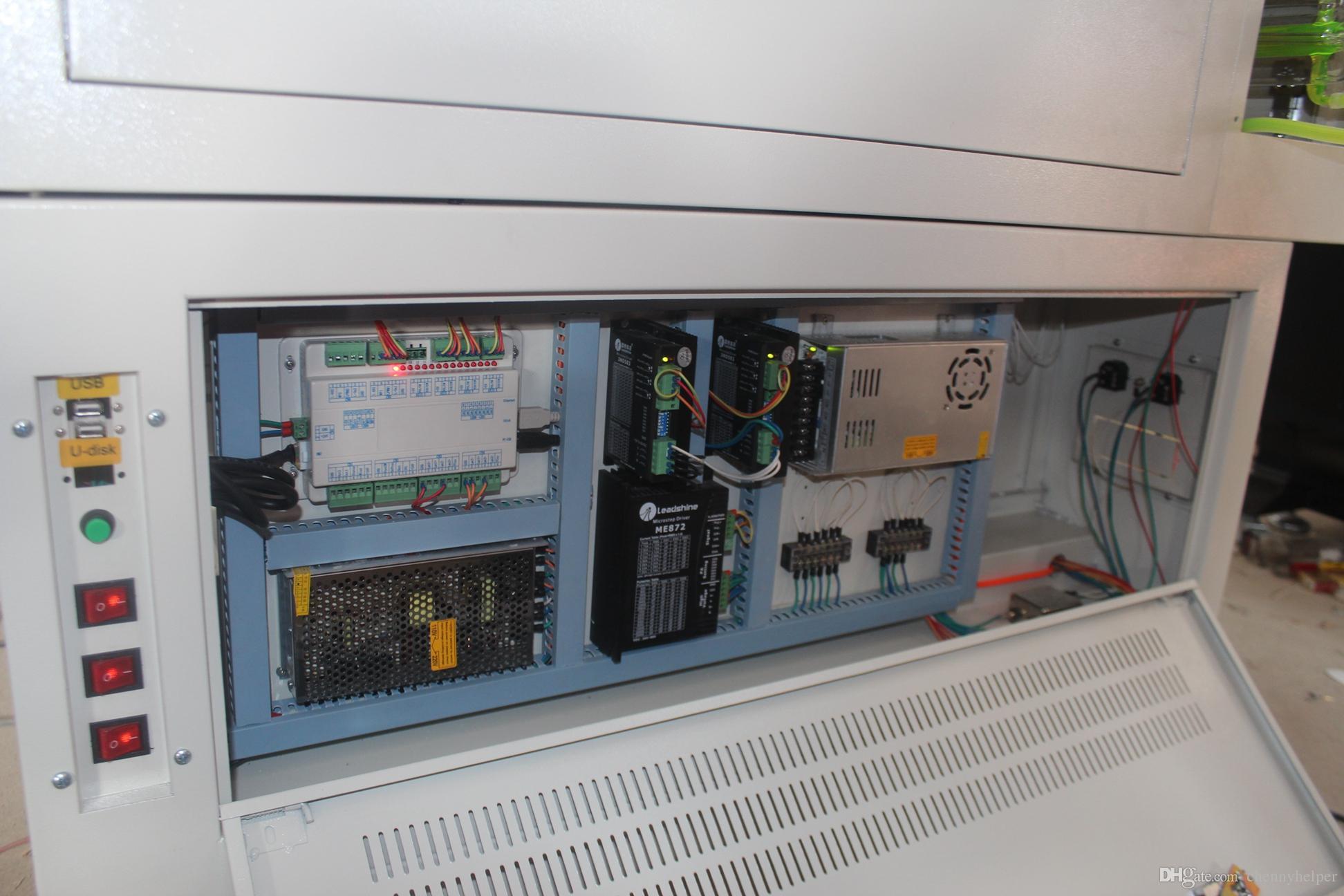9060 - 80W 600 * 900MM 80W الليزر آلة قطع للعلبة كرتون