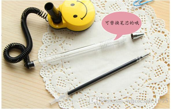 penne Forte adesivo Pull rope Portafoto sorridente in cartone Forniture bancarie Spedizione gratuita