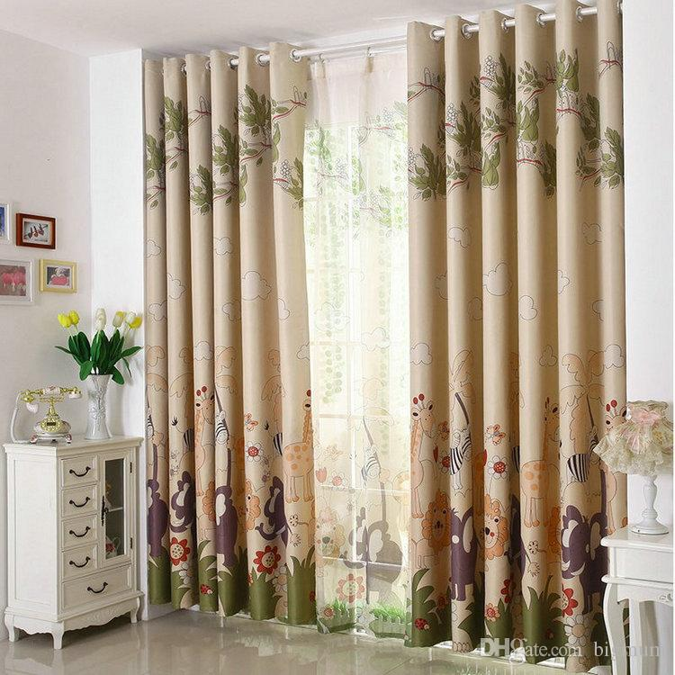 ecofriendly curtains for kids cartoon curtains tulle sheer curtains 100blackout curtains blue pink mouse mr car