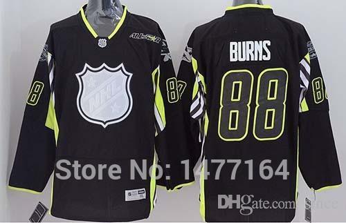 san jose sharks jersey 88 brent burns black 2016 all star stitched ... c41baf539