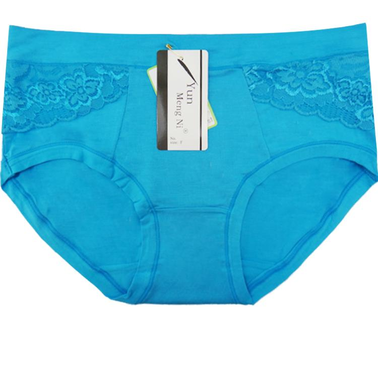 3bb445ef0294 2019 Low Waist Bamboo Brief Lace Spandex Lady Panties Lady Boyleg Super  Bamboo Lady Undergarment Women Tanga Sexy Lingerie Hot Intimate Free Size  From ...