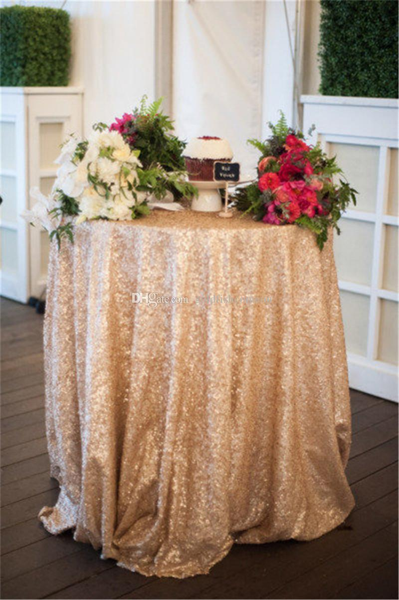 120 Champagne Sequin Tablecloth Buy Hand Embroidery Designs
