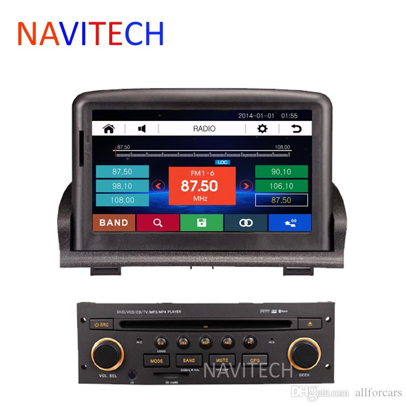 Car Dvd Gps Player For Peugeot 307 2006 2012 Bluetooth Ipod Radio Stereo Rds Can Bus Free Sd