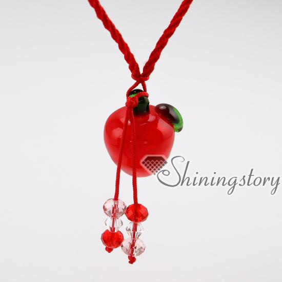 wholesale diffuser necklace lampwork glass essential jewelry aromatherapy necklaces wholesale diffuser necklace small perfume bottles oil di