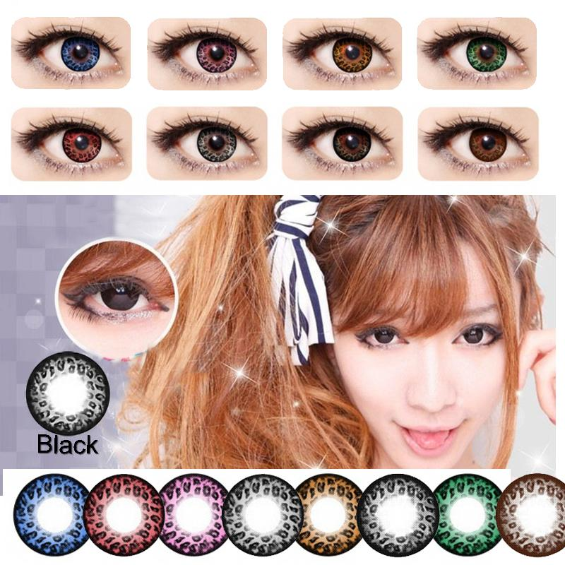 see larger image - Contact Lenses Color Halloween