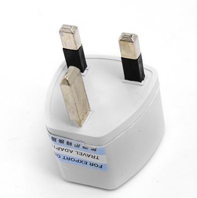 EU / VS naar UK Travel Plug Convertor Universal Travel Power Adapter Plug AC voor Britse standaard