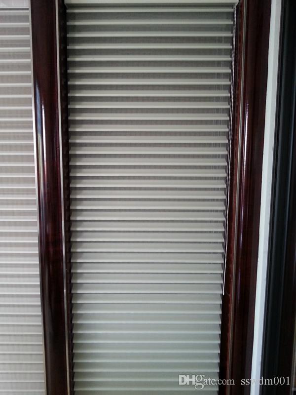 Customs Made Panjur Comfortex Sheer Yatay Shades Shangri-La Bej Pencere Perdeleri Oturma Odası İçin 10 Renk Mevcuttur