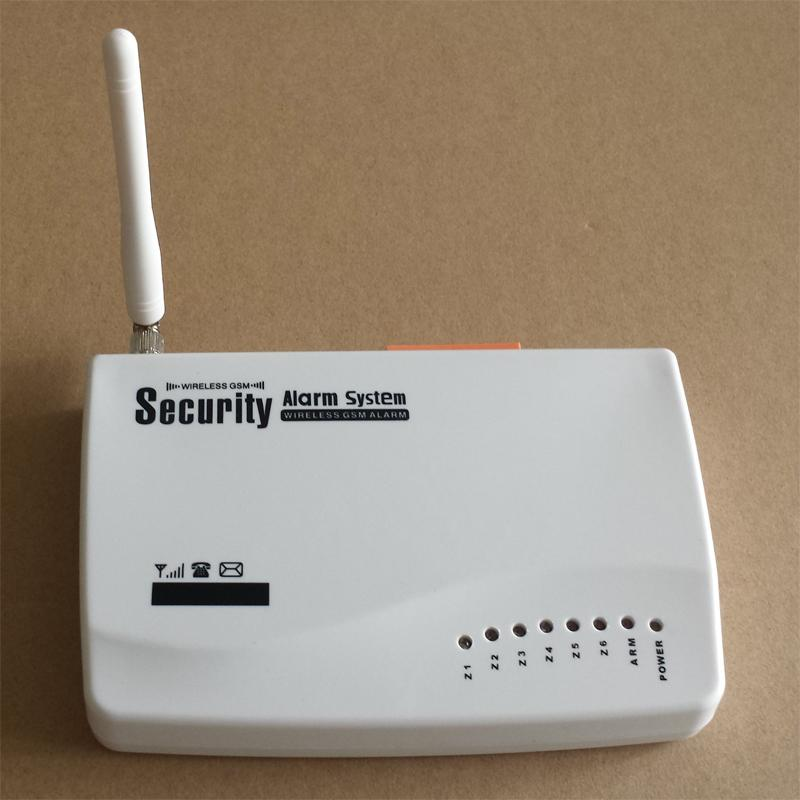 Sistema de Alarma de Seguridad Inteligente Inalámbrico GSM Home Security Sistema de Alarma de Incendio y Gas SOS Burglar Instalación rápida y fácil con Sensor de Puerta Sensor PIR