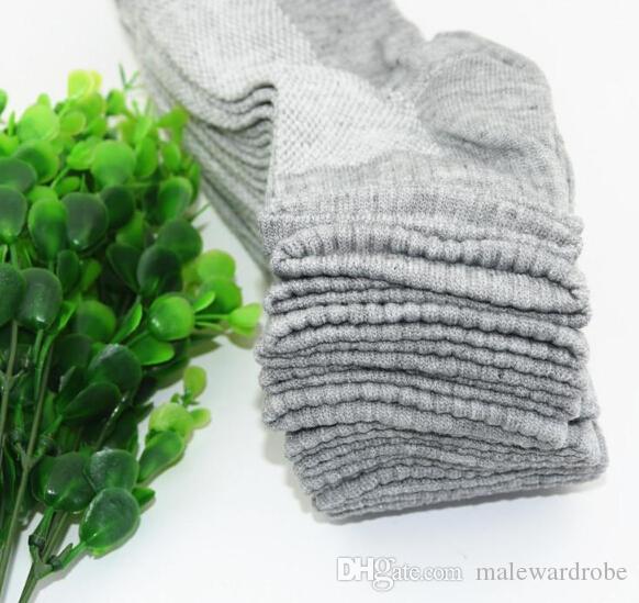 Herren lange Baumwollsocken Männer Frühling Sommer Soild Mesh Socke Alle Größe Kleidung Zubehör für Männchen