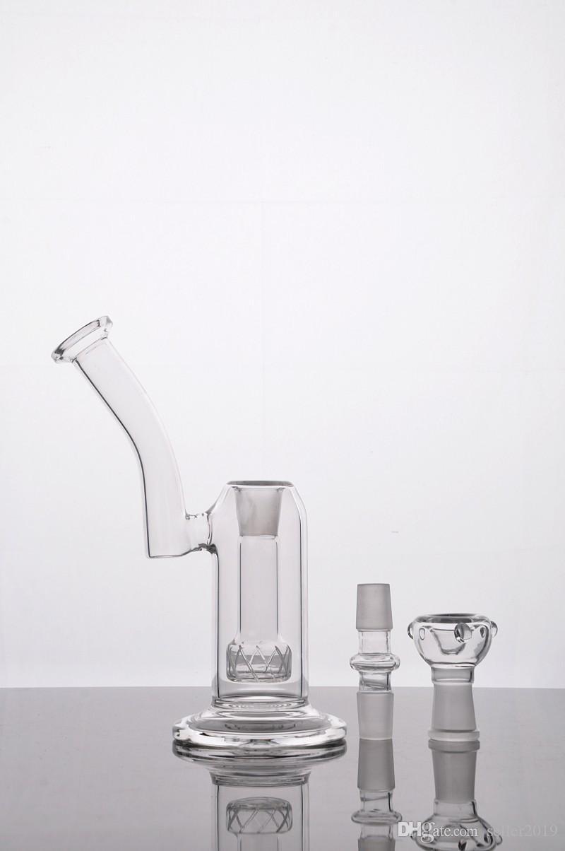 2016 Hoge Kwaliteit Glas Diffusion Pump Bongs Glas Water Roken Pijpen Diffusion Pump Olie Rigs Glasbongs met Bal Gratis verzending