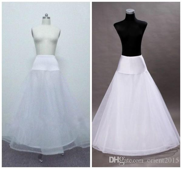 Best Seller! A Line Graceful Petticoat Wedding Bridal Underskirt ...