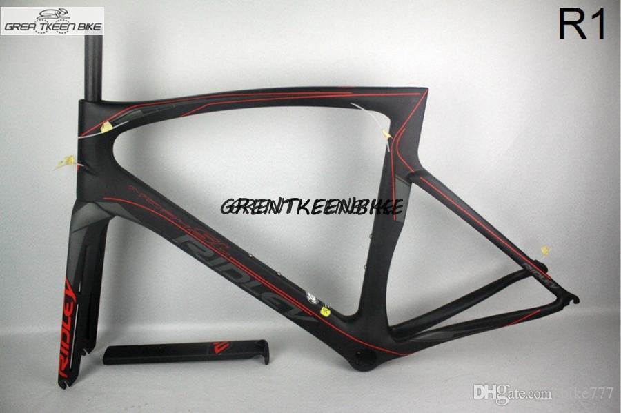2016 Full Carbon Fiber Carbon Road Bike Frame Ridley Carbon Bike ...