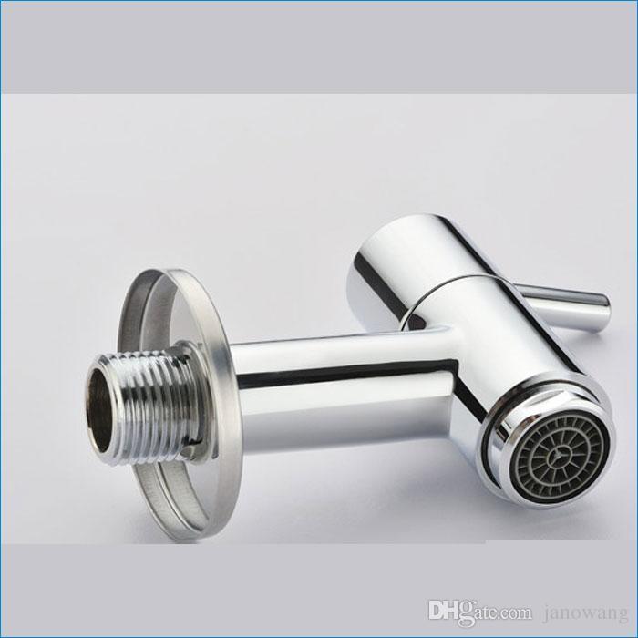 Grifo de agua fría, Grifo de la fregona, Grifo de latón, Grifo de lavabo, Mezclador de lavabo de pared, J14146