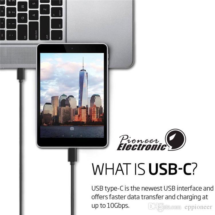 كابل 3ft 1 متر عالية السرعة USB 2.0 نوع A إلى B C كابلات ل Lumia Nexus