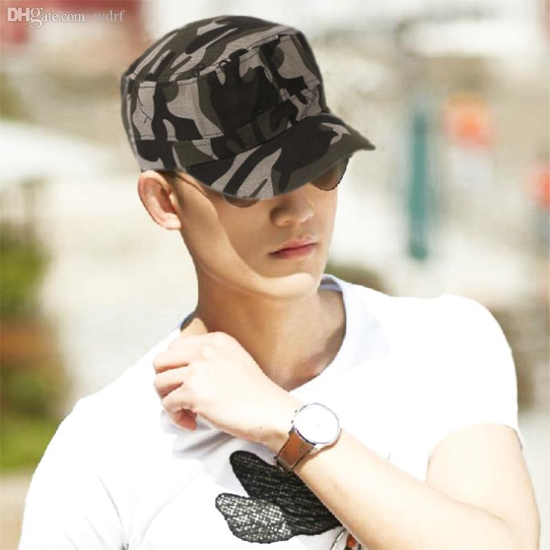 Wholesale Unisex Fashionable Men Women Baseball Caps Sun Visor Army  Camouflage Soldier Combat Hat Sport Cap Hats For Women Trilby Hat From  Wdrf 063e28f8e33