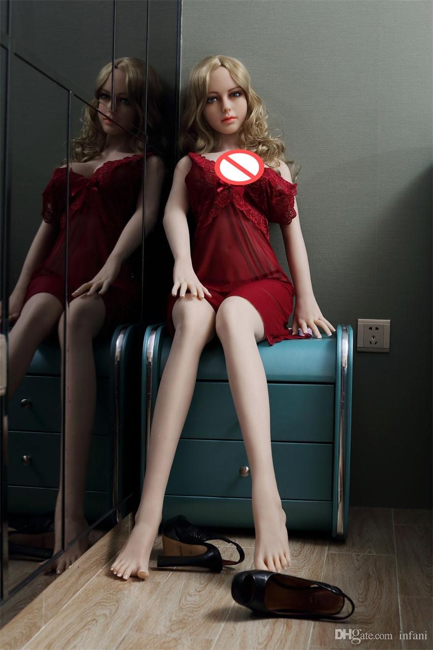 145cm 158cm 165cm Sex Dolls Real Silicone Love Dolls Lifelike Breasts Vagina Anal Metal Skeleton Male Masturbation Adult Toy