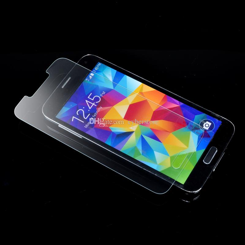 For Galaxy S6 S7 S3 S4 S5 Note 3/ 4/ 5 Premium Real Tempered Glass Film Screen Protector Explosion Proof For Samsung Note4