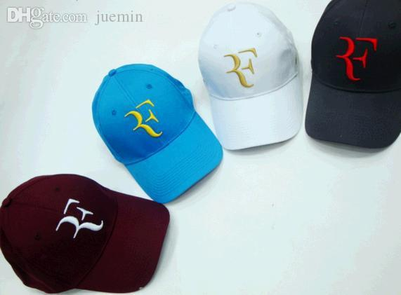 Wholesale Roger Federer Tennis Hat Wimbledon RF Tennis Hat Baseball Cap Han  Edition Hat Sun Hat Hatland Brixton Hats From Juemin d00d4bb66c6