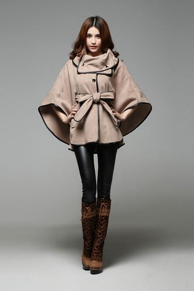 2019 2016 Fashion Women Ladies Winter Coat Western Style Girls Warm