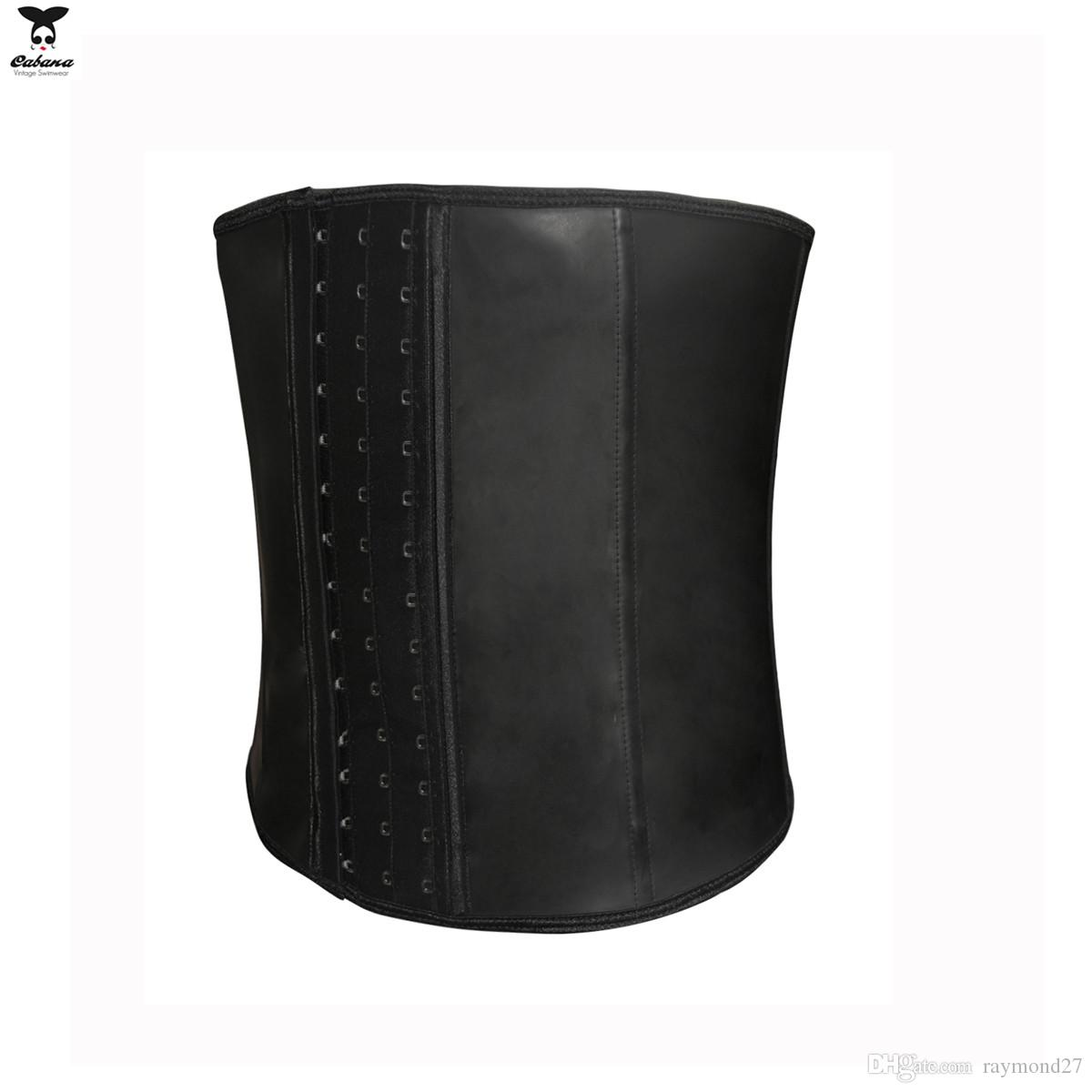 Latex Waist Trainer for Men Hot Shapers Waist Cincher Firm Tummy Slimming Latex Waist Cincher Corset Plus Size Waist Training Corsets