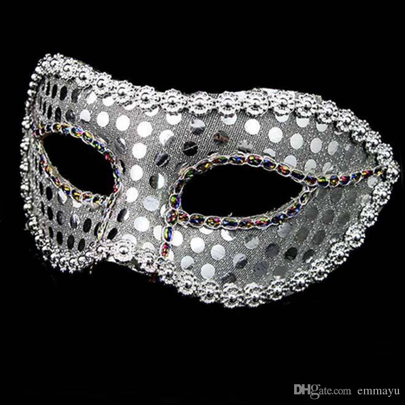 Retro Venice Carnival Mask Party Halloween Woman Girls Lace Lentejuelas Reina Princesa Mascarada Máscaras Carnaval Cosplay Decoración de regalo