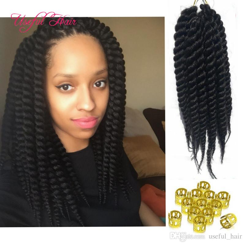 2019 Free Shiping 2x Havana Mambo Twist Crochet Hair Extensions