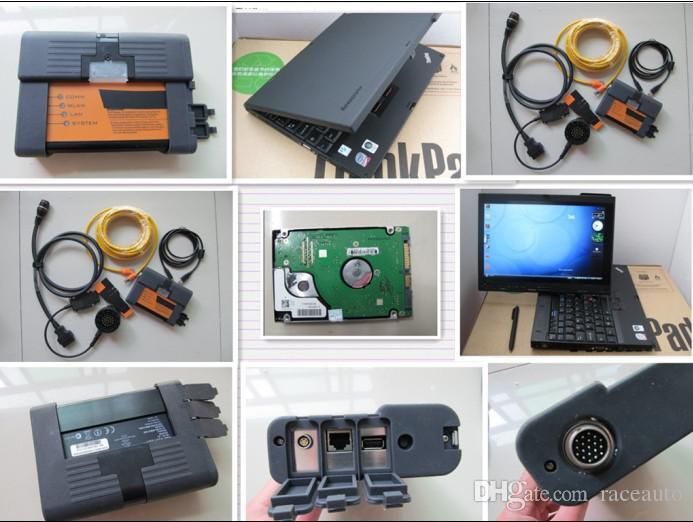 v2015.08 ICOM A2 B C 3 ICOM BMW ICOM B C + 500GB HDDエキスパートモードX200Tタッチスクリーンラップトップフルセット