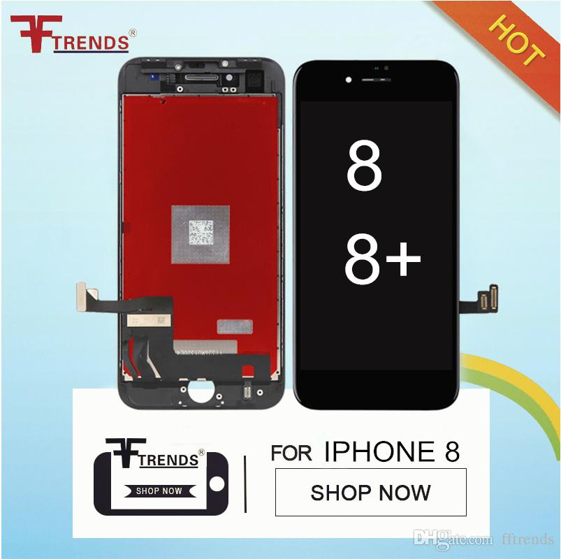 Top Quality AAA+++ for iPhone 8 &8 Plus 3D Touch LCD Display & Touch Screen Digitizer Full Assembly No Spots Dots 100% Tested