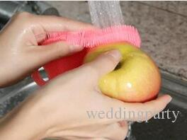 Silicone Brush Magic Dish Bowl Pot Pan Wash Cleaning Brushes Cleaner Sponges Scouring Pads Kitchen Accessories