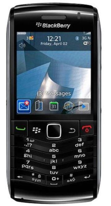 개장 원래 블랙 베리 9105 진주는 풀린다 휴대 전화 3G 와이파이 GPS 3.2MP 쿼드 밴드 블랙 베리 OS 5