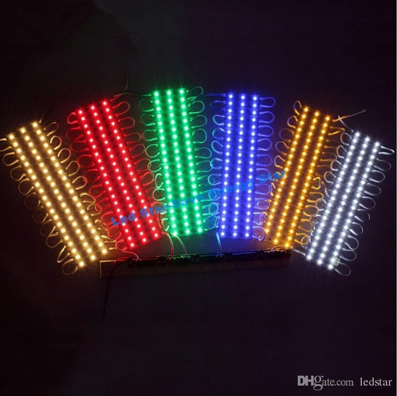 أكثر إشراقاً من وحدات 5050 1.5W 3 المصابيح SMD 5630 وحدات LED DC 12V عالية كواليتى وحدات الإضاءة الخلفية ل Channer رسالة IP65