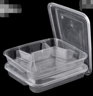 2019 For Fourfold Disposable Plastic Packaging Snack