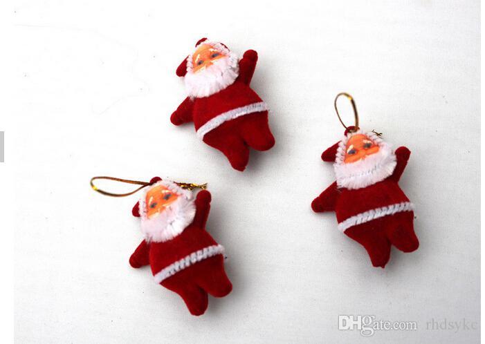 Christmas Tree Ornaments Santa Claus Chrismas Decorations
