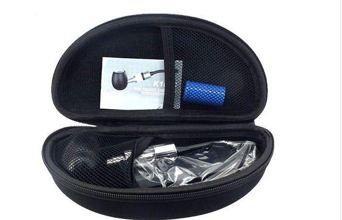K1000 E-Rohr Mechanical Mod Kit K1000 Rohr Elektronische Zigarette E Zigarette 18350 900mAh Batterie in Zipper Fall Alle Farben Instock