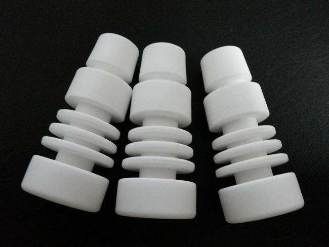 chiodo ceramico di ceramica senza cappuccio del tappo del carb di ceramica il tubo di vetro di vetro dell'atomizzatore dell'acqua di vetro inoltre offriamo il chiodo del chiodo del chiodo del chiodo del titanio chiodo smerigliatrice dell'erba