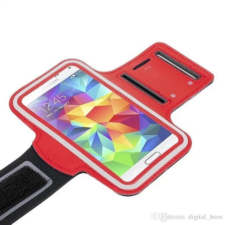 Samsung Galaxy S6エッジアンチスイートアームバンド用iPhone 7アームバンドケースのランニングジムスポーツ電話バッグホルダーポーチカバーケース