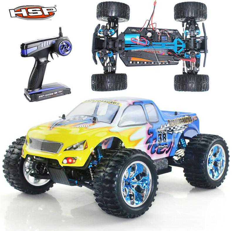Hsp Rc Car Scale Model Off Road Monster Truck