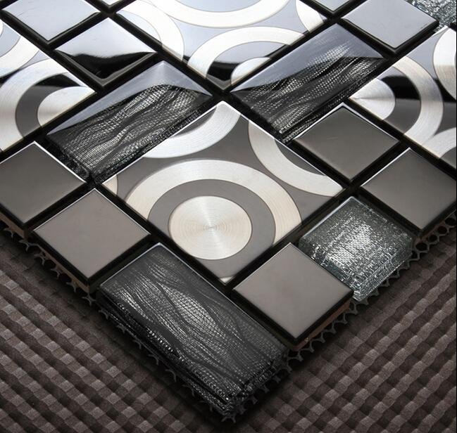 mosaic glass steel wall tiles online | mosaic glass steel wall