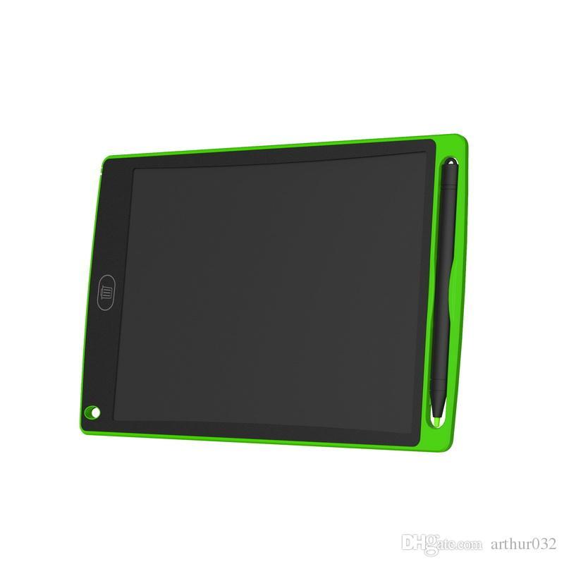 8,5-Zoll-LCD Writing Tablet Zeichenbrett Tafel Handschrift Pads Geschenk für Kinder Paperless Notepad Tablets Memo mit hochwertigeren Pen