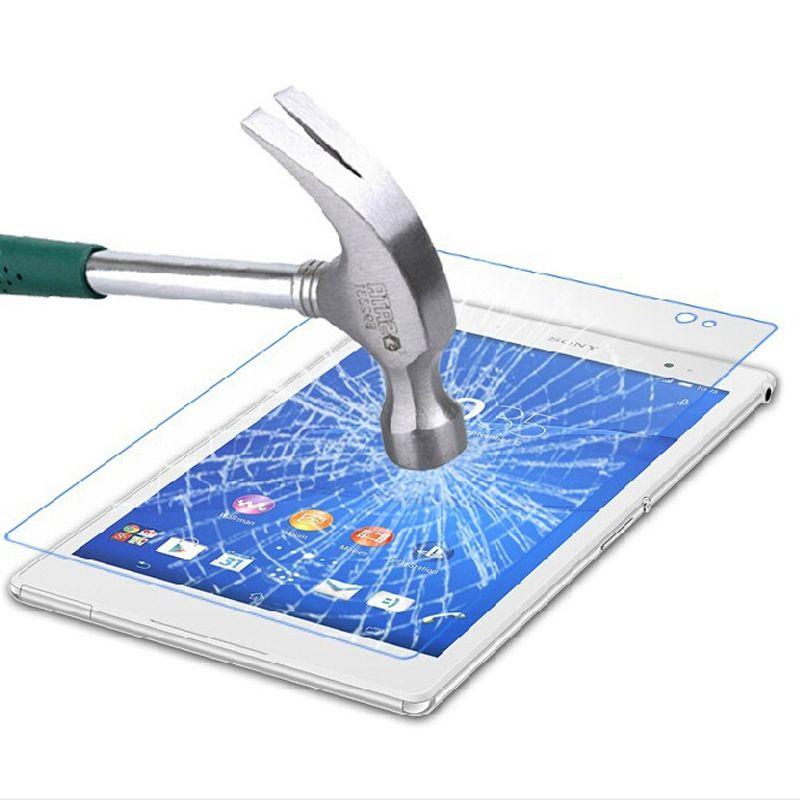 Sony Xperia Z3 Tablet Kompakt Z4 Tab Temperli Cam Ekran Koruyucu 9 H 0.3 MM Perakende Ile Yüksek Kalite pacakge