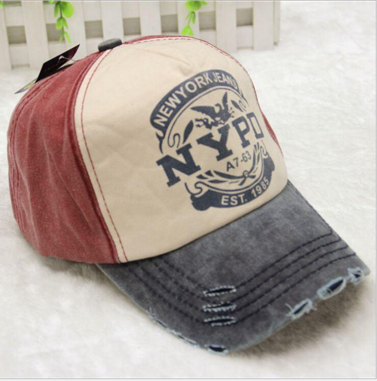 Hot Sale Fashion NYPD Fishing Baseball Cap Water Wash Retro ... a7c91dd98fd