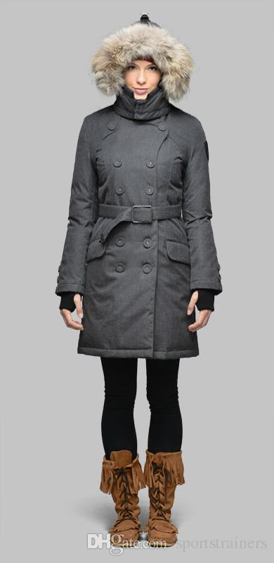 2017 Luxury Down Coats Nobis Women Tula Parka Puffer Down Jacket ...