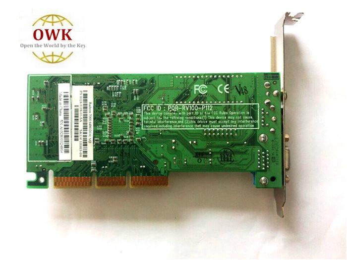 Kostenloser Versand Radeon7000 VGA * TVO * AV 64M von der Fabrik