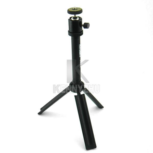 Telecamere Nuovo mini treppiedi il ballhead Digital FOTOMATE V-POD-S Altezza registrabile nero con il sacchetto portatile