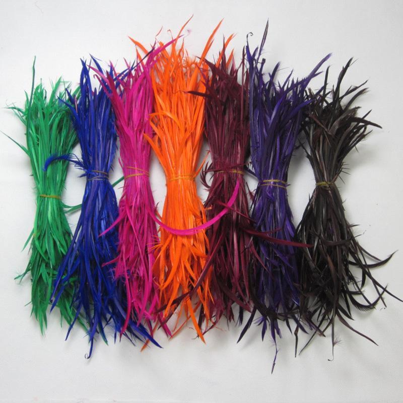 Piume d'oca sottile piume d'anatra cappello di seta maschera decorazione dei capelli estensione dei monili risultati dell'orecchino piuma 15-20 cm 1000 pz