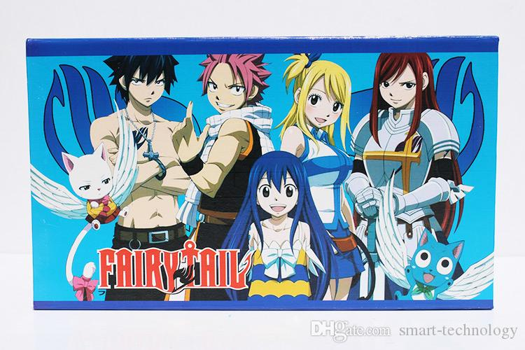 Newest Fairy tail key Keychain set with boxed hardware model Figures