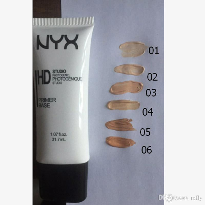 NYX HD Stüdyo Fotojenik Astar Baz Yüz Vakıf BB Krem NYX Astar Kapatıcı 6 Renkler DHL Kargo